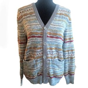 URBAN OUTFITTERS Sweater Cardigan Grey Vintage